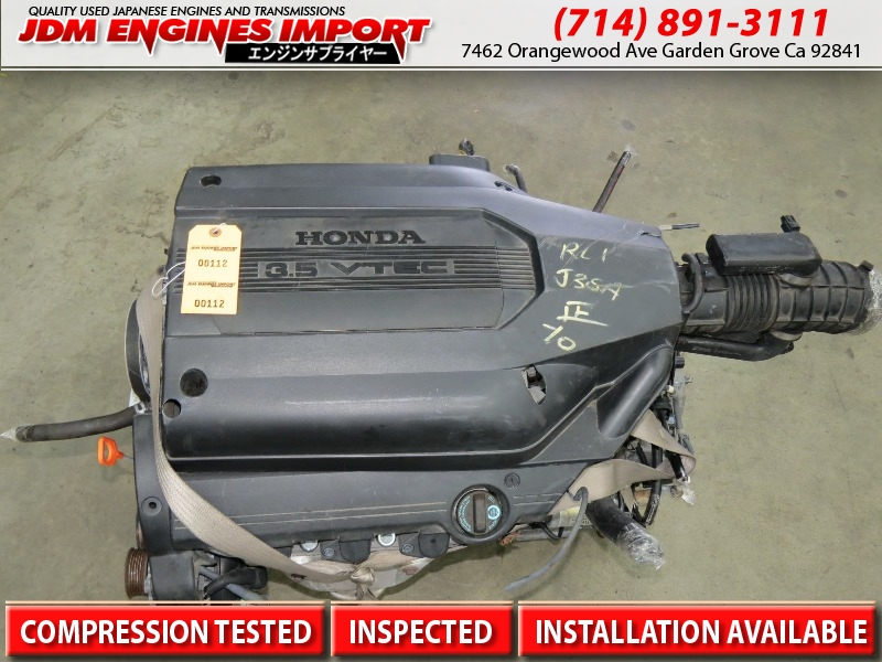 2002 2003 2004 Honda Odyssey Engine Jdm J35a Vtec 3 5l V6