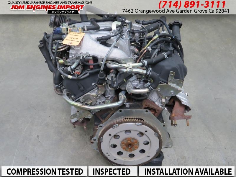 JDM INFINITI QX4 NISSAN PATHFINDER XTERRA FRONTIER 3.3L V6 ENGINE VG33 VG33-E