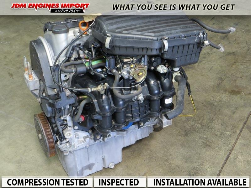Honda Civic 1 5l Vtec D15b Engine Replacement For 1 7l D17a1 D17a2 Fits 01