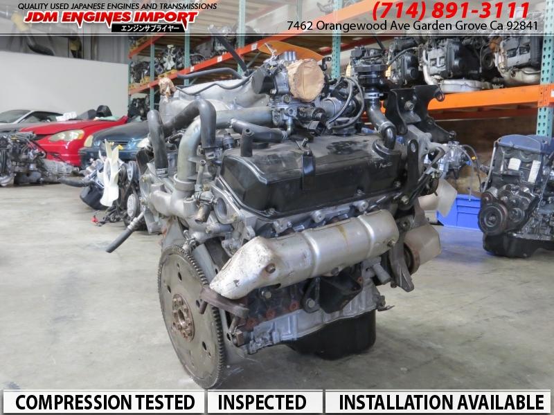 JDM MITSUBISHI MONTERO SPORT V6 3.0L SOHC NON TURBO ENGINE 6G72
