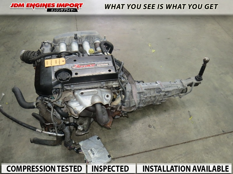 Jdm 3sge Toyota Altezza Is200 Sxe10 3sge Beams Engine 6 Speed Trans Dual Vvti