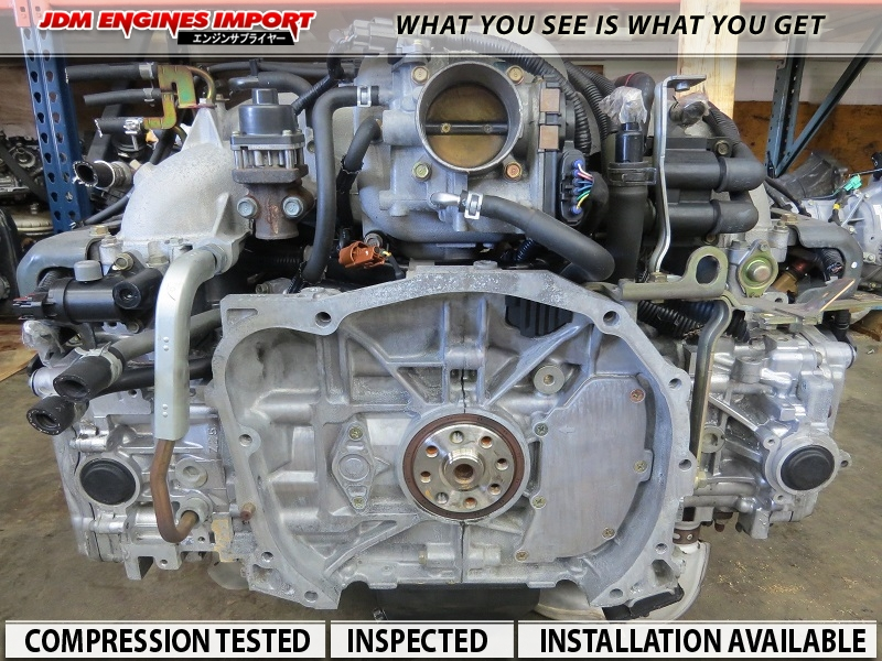1999-2005 ENGINE SUBARU FORESTER LEGACY OUTBACK BAJA 2.5L ...