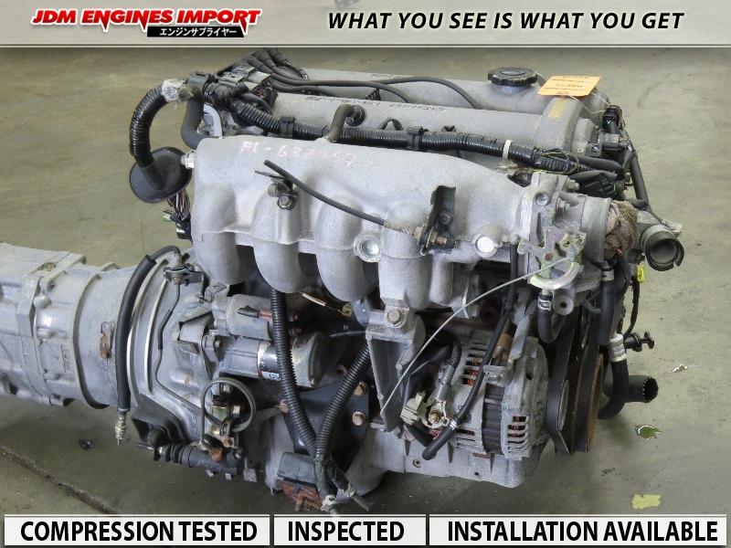 MAZDA MIATA 1 6L B6 ENGINE 5 SPEED TRANSMISSION FITS 90-97