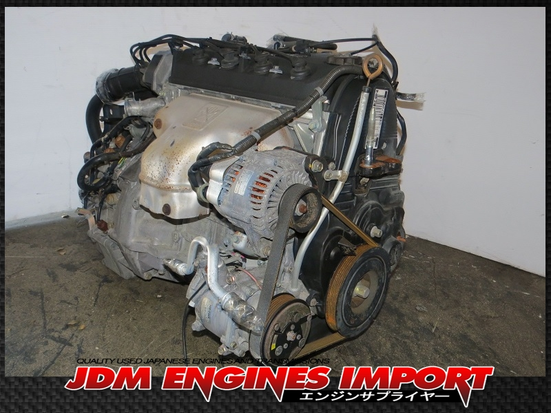honda accord  cylinder  sohc vtec engine long block jdm fa motor