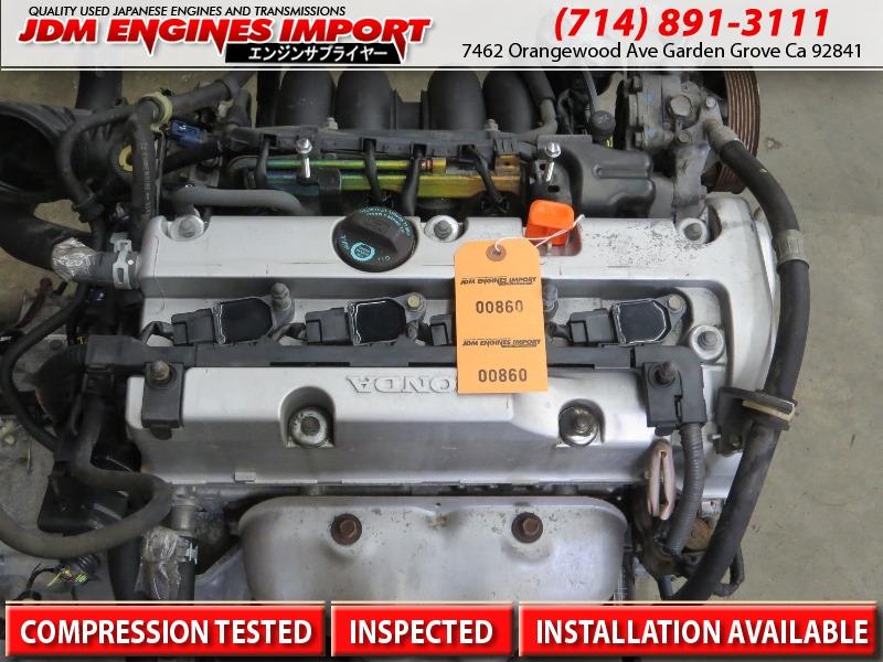 JDM K24A 02-06 HONDA CRV 2 4L iVtec Engine K24A CR-V Motor