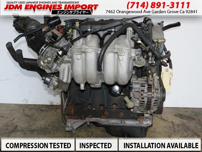 JDM Mazda Protege Engine 1999-2003 FS Motor 2.0L Motor Longblock