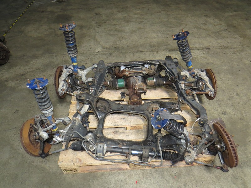 Jdm 92 98 Mazda Rx 7 Fd3s Front Amp Rear Subframe Differential Brakes Coilovers