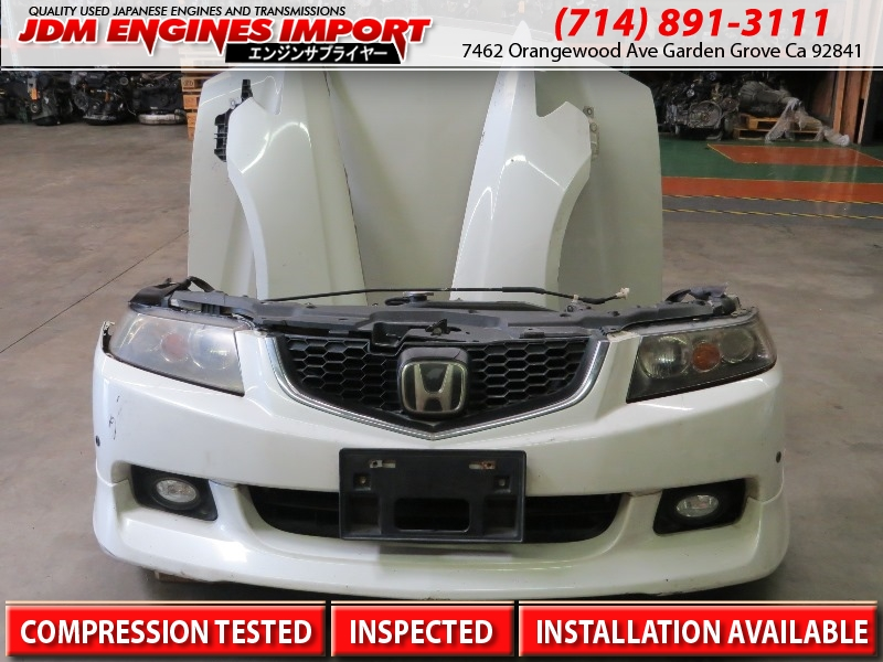 JDM HONDA ACURA TSX FRONT END CONVERSION NOSE CUT HID CL CL ACCORD - Acura tsx euro r