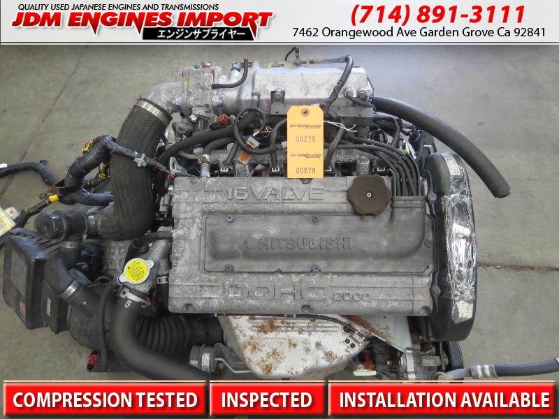 95 96 mitsubishi eclipse 2 0l turbo engine manual fwd trans ecu jdm