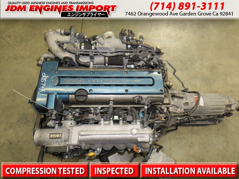 Jdm 2jzgte Toyota Aristo Lexus Gs300 Twin Turbo Engine Vvt