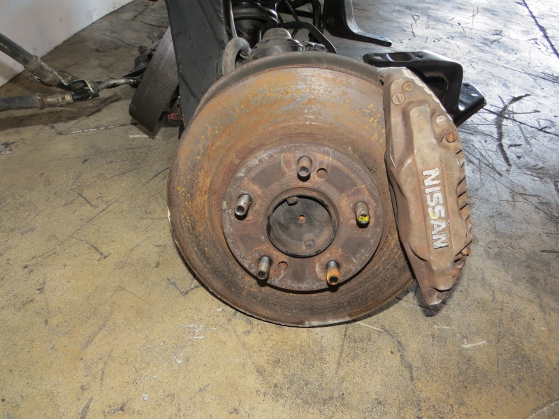 JDM Nissan 300ZX Front Subframe Axles Brake calipers