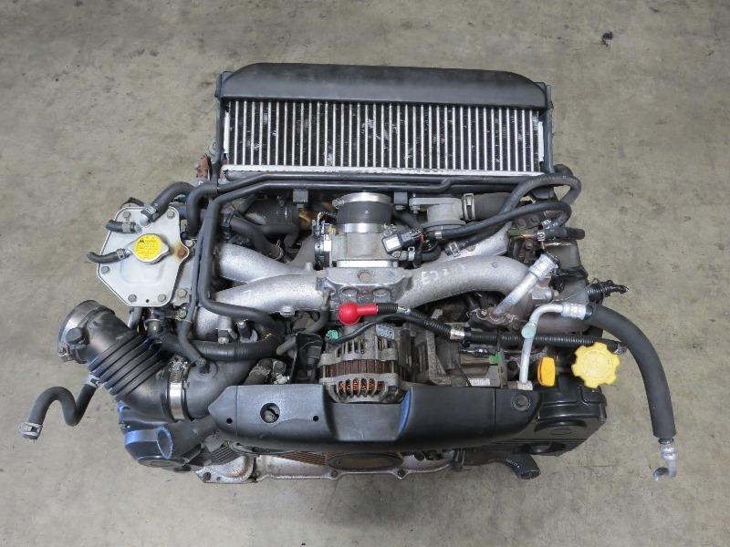 jdm ej turbo subaru impreza wrx engine avcs obd longblock ej
