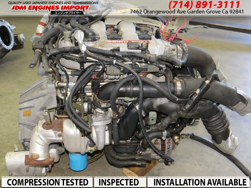 Jdm Vg30dett Motor 300zx 3 0l Twin Turbo Engine Harness