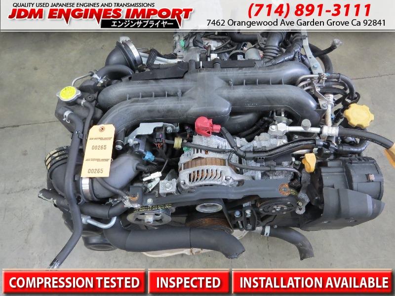 Subaru WRX Engine Turbo JDM EJ20 Replacement for EJ25 2 5L