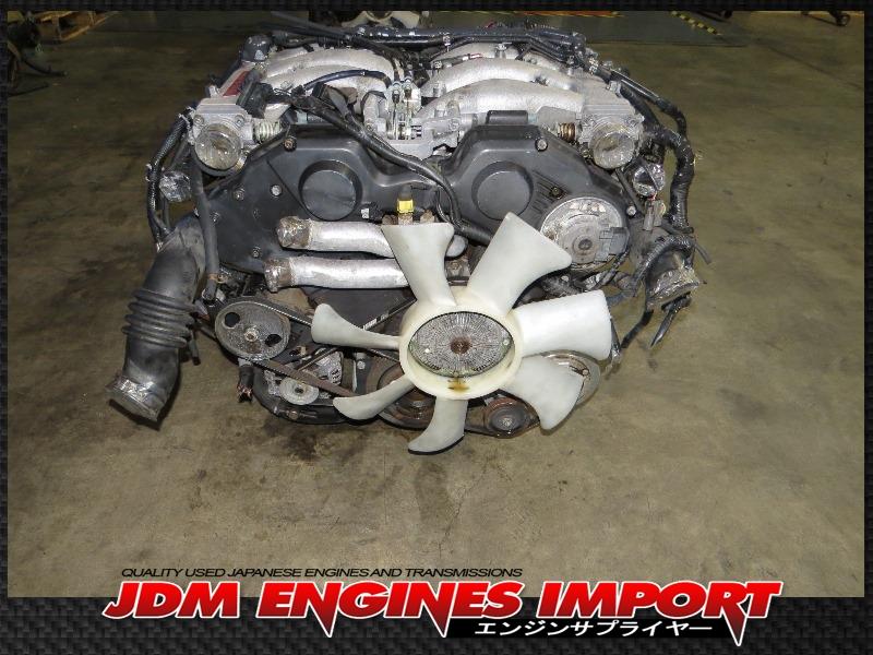 Twin City Mazda >> JDM 90-96 NISSAN 300ZX 3.0L V6 TWIN TURBO VG30DETT ENGINE ...