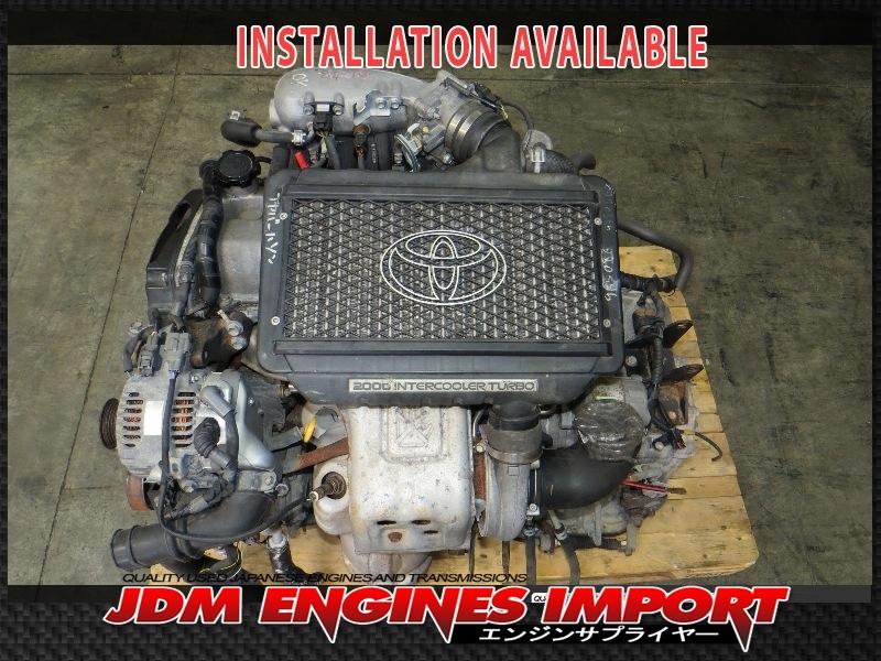 Web on 2 4 Toyota Engine Block