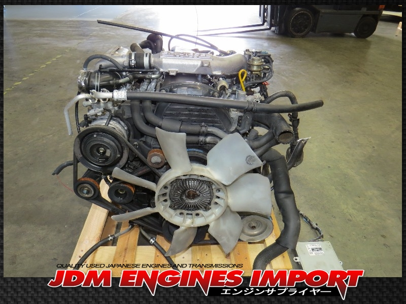 JDM 2L TOYOTA HILUX 4RUNNER 2 4L EFi DIESEL TURBO ENGINE