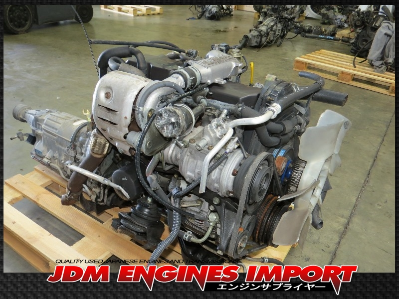 JDM 2L TOYOTA HILUX 4RUNNER 2.4L EFi DIESEL TURBO ENGINE ...