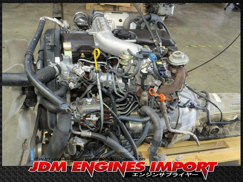JDM 2L TOYOTA HILUX 4RUNNER 2.4L EFi DIESEL TURBO ENGINE ...