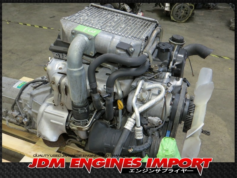Toyota LandCruiser 4Runner 1KZ-TE Turbo Diesel Engine RWD ...