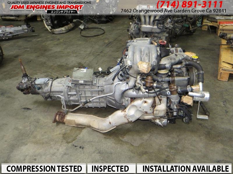 Mazda RX7 FD3S 13B Twin Turbo 1.3L Rotary Engine 5 Speed ...
