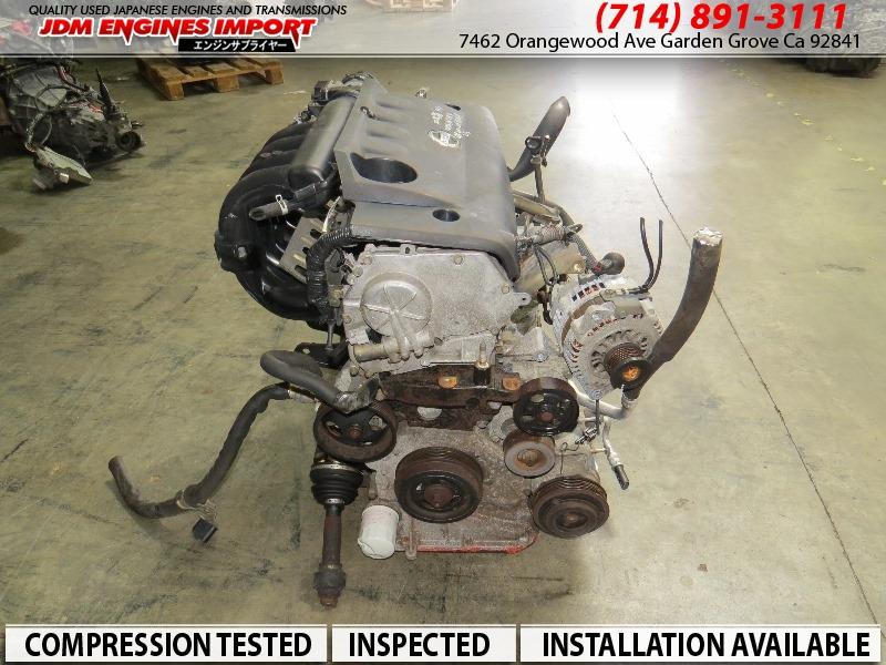 JDM Nissan Altima Sentra QR25-DE 2.5l Engine QR25DE Motor ...