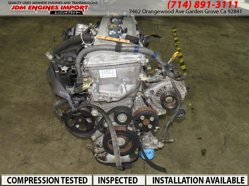 JDM TOYOTA 2AZ Engine 2.4L CAMRY RAV4 SCION TC 2AZFE Motor Solara Highlander
