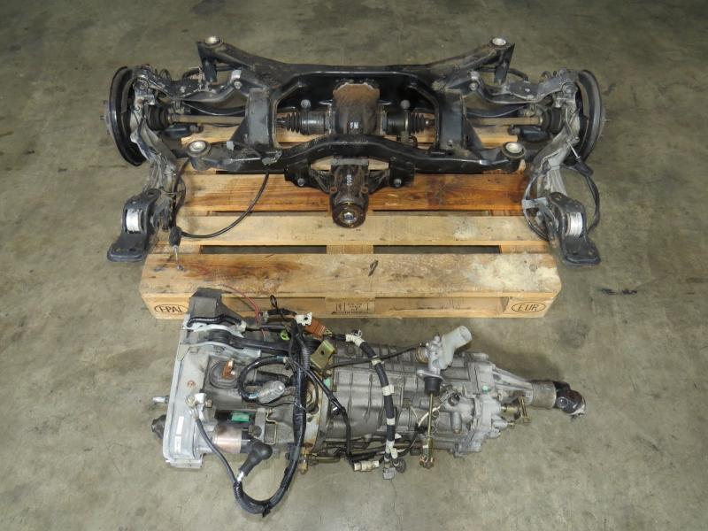 Jdm 03 09 Subaru Legacy Outback 3 0r 6 Speed Manual