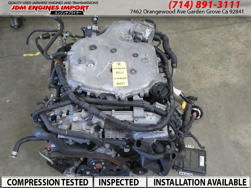 Jdm 2003 2006 Nissan 350z Infiniti G35 Engine Vq35de Rwd border=