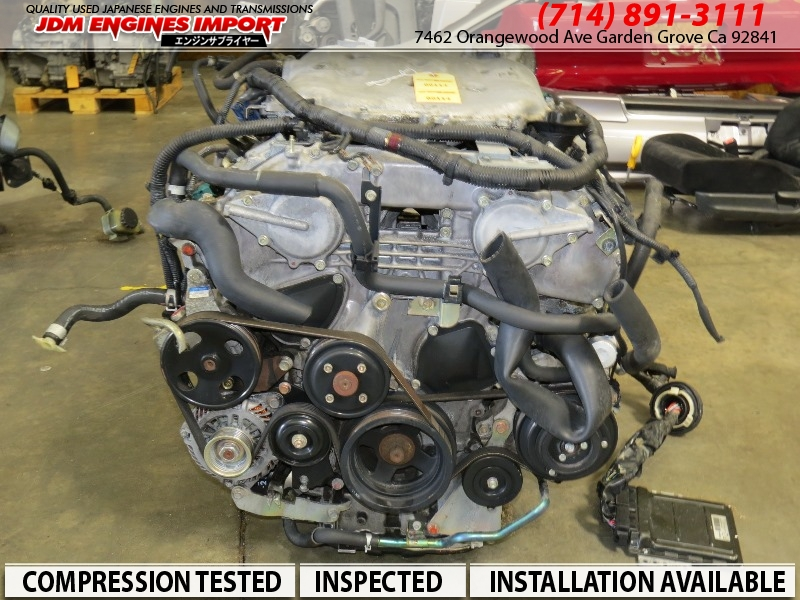 Nissan Garden Grove >> JDM 2003-2006 NISSAN 350Z INFINITI G35 ENGINE VQ35DE RWD MOTOR AUTOMATIC TRANSMISSION