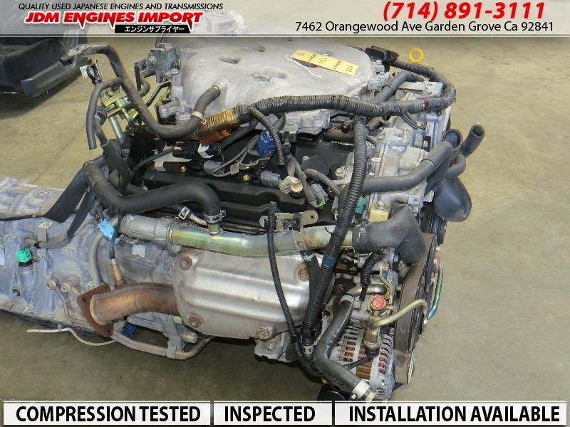 JDM 2003-2006 NISSAN 350Z INFINITI G35 ENGINE VQ35DE RWD MOTOR AUTOMATIC TRANSMISSION
