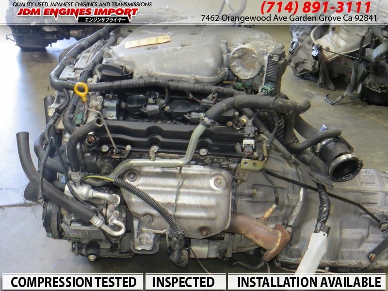 Auto Parts Miami >> JDM 2003-2006 NISSAN 350Z INFINITI G35 ENGINE VQ35DE RWD MOTOR AUTOMATIC TRANSMISSION