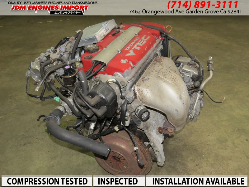 JDM H22A Engine Honda Accord Euro R Prelude 2.2L Type S Motor Only & ECU