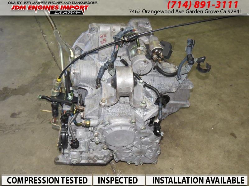 2003 Nissan Altima >> 2002 2003 2004 2005 2006 JDM NISSAN ALTIMA QR25 2.5L AUTOMATIC TRANSMISSION