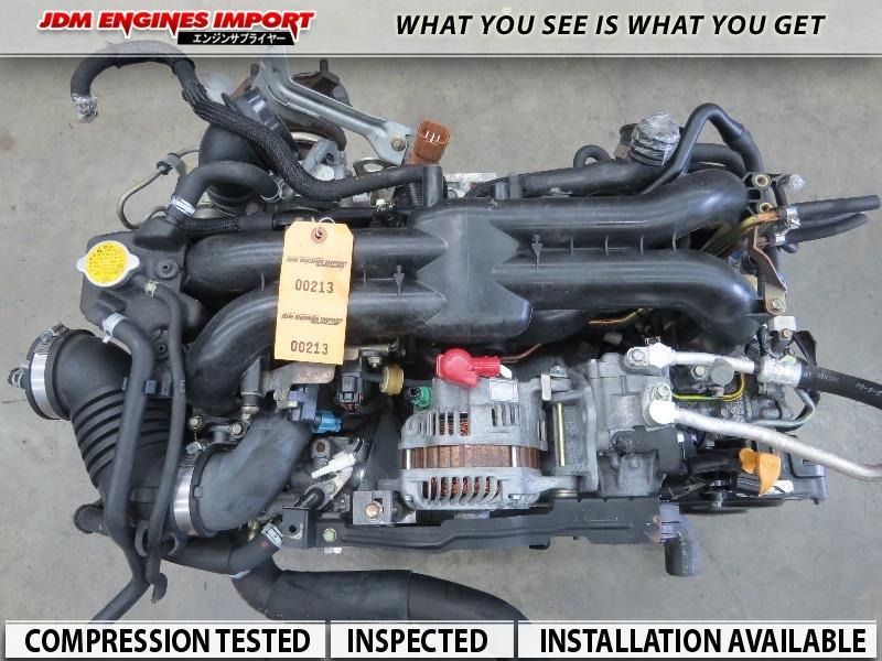 04 05 06 Subaru Forester Xt Gt Baja Legacy Gt Turbo Engine