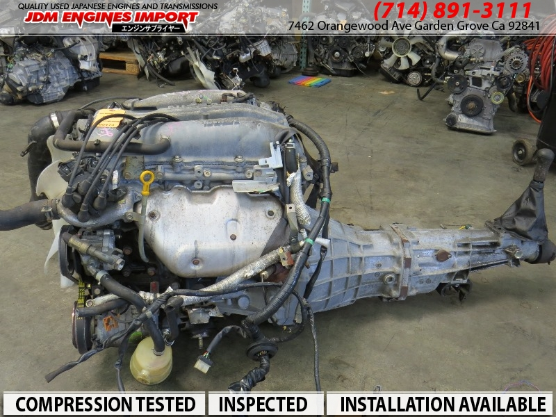 Jdm Nissan Sr20 Engine S14 Non Turbo Sr20de 5 Speed