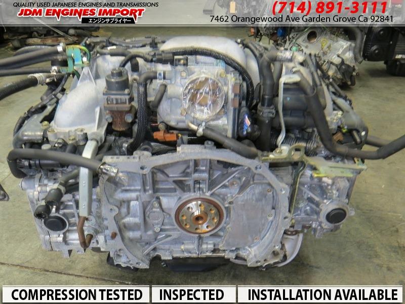 Subaru Outback Parts >> 00-05 Subaru EJ25 2.5L SOHC Engine EJ253 Impreza Legacy Forester Baja Motor JDM