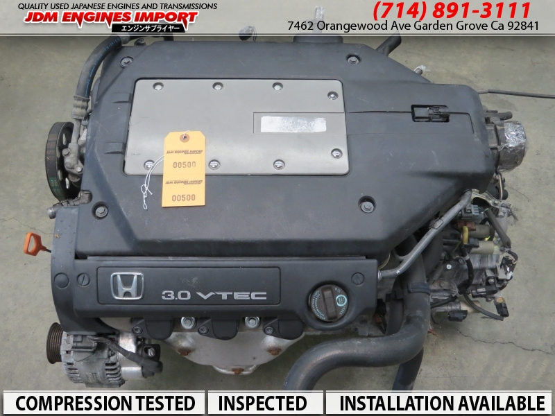 JDM 2000-2002 HONDA ACCORD 97-99 ACURA CL V6 3.0 SOHC VTEC ENGINE J30A COIL TYPE