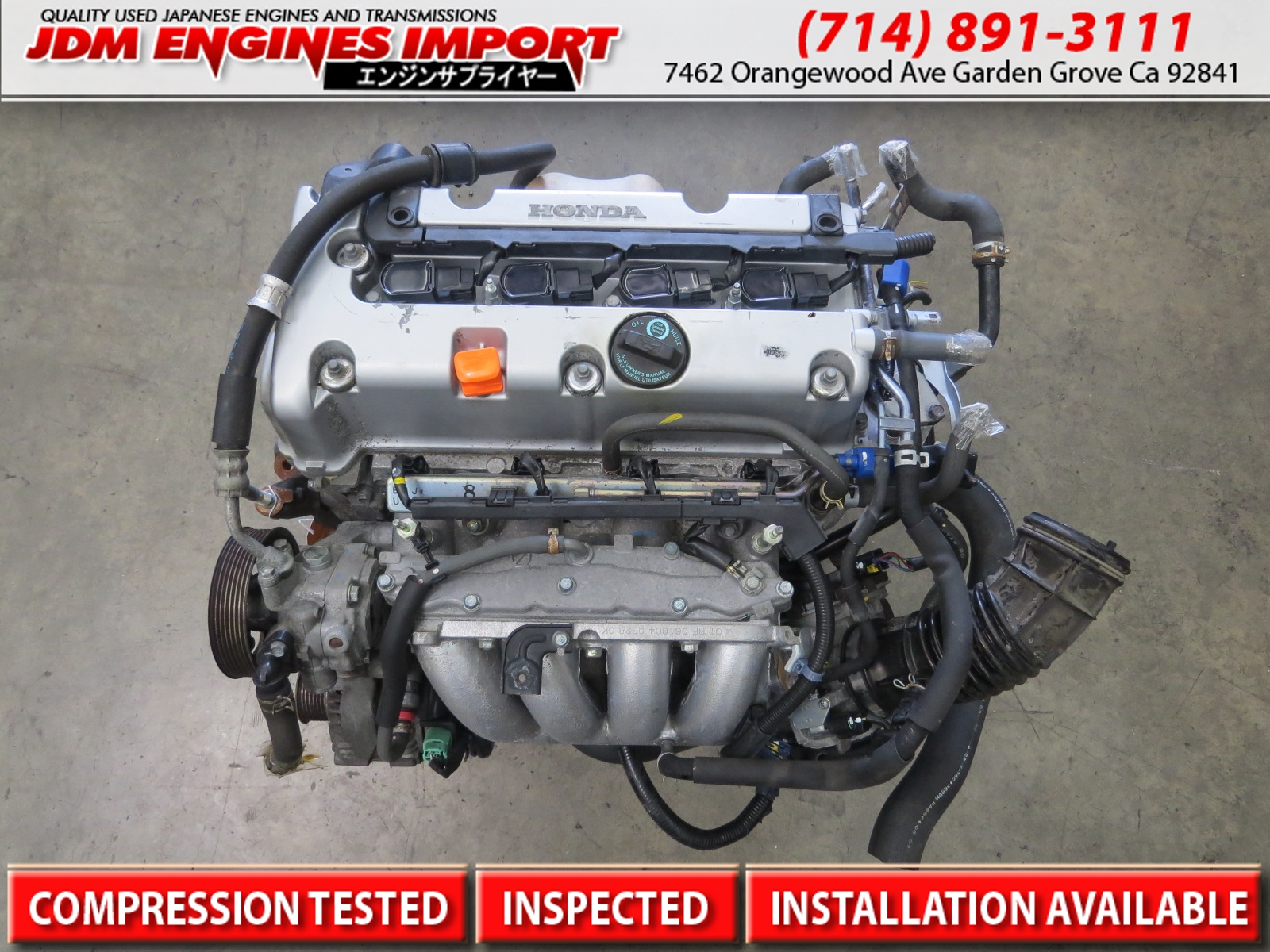 acura tsx engine k24a long block replacement for k24a2 rbb