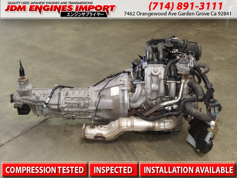 Jdm Mazda Rx8 13b Engine 6 Port 6 Speed Manual