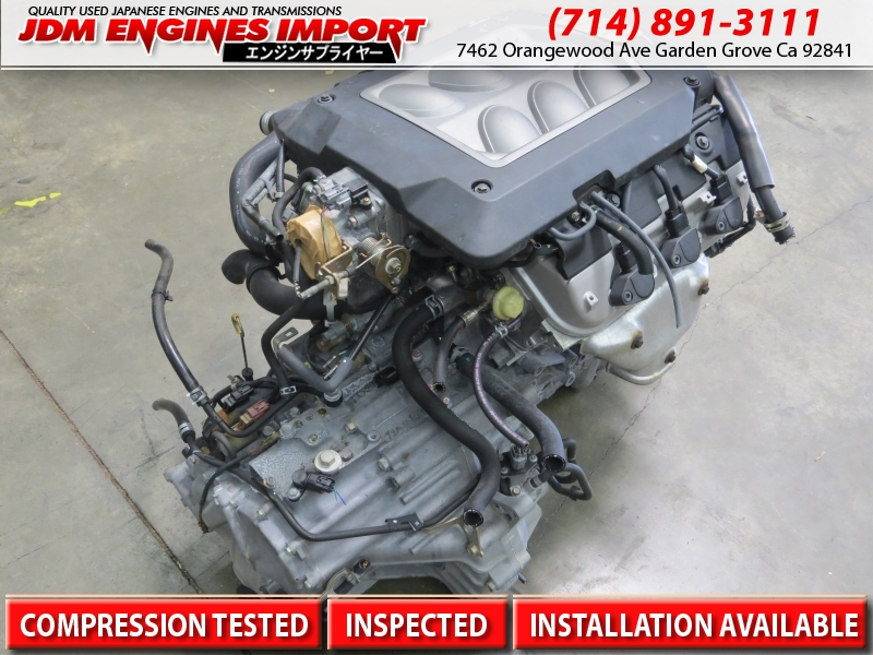 Jdm Acura Tl 99 03 01 Cl Engine And Auto Trans 32l V6 J32a