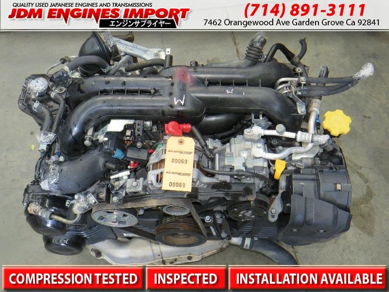 2006 2010 subaru impreza wrx engine turbo jdm ej20 for 2006 subaru wrx motor