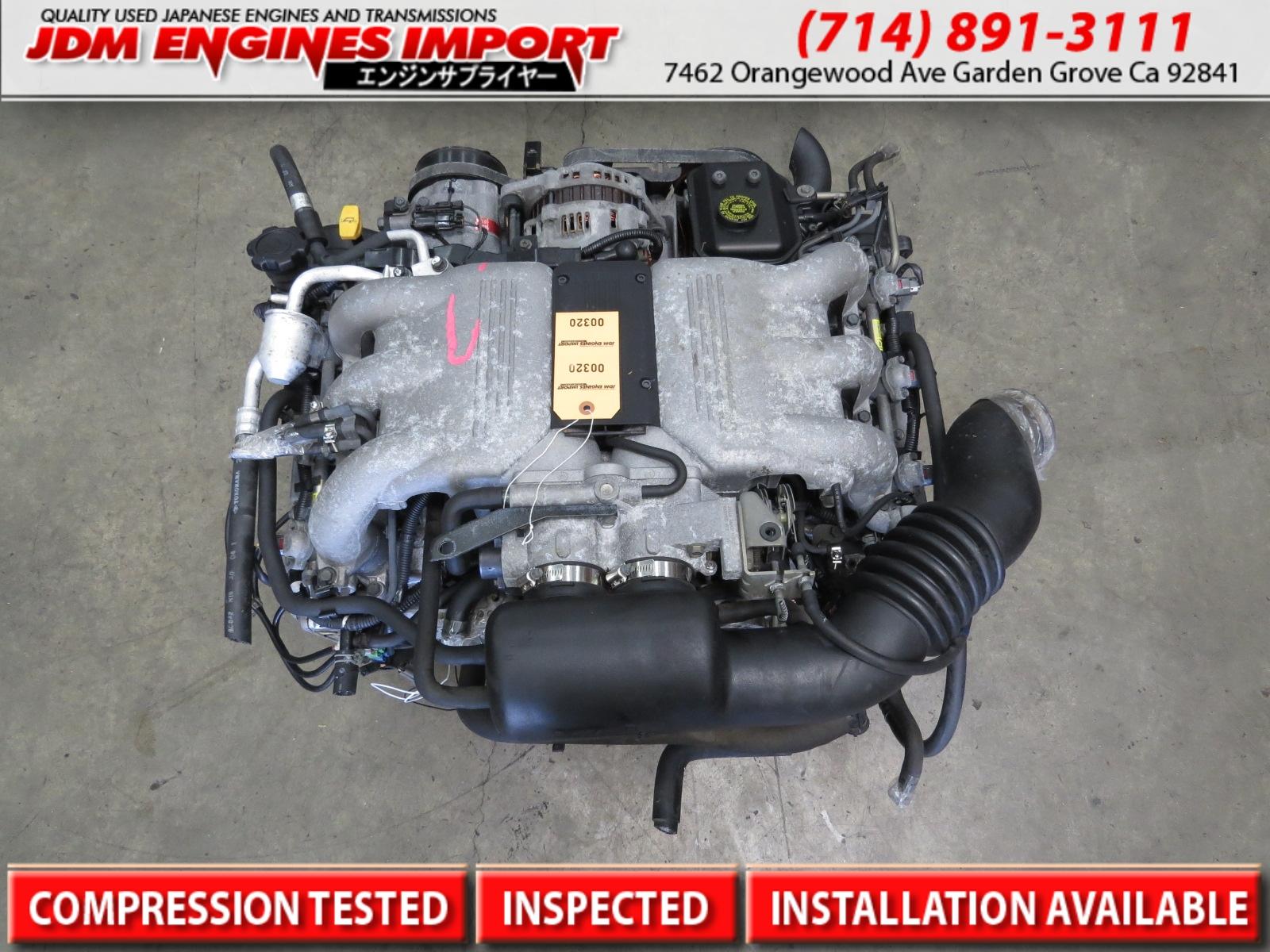 JDM EG33 SVX ENGINE 1992-1996 Subaru SVX ENGINE MOTOR