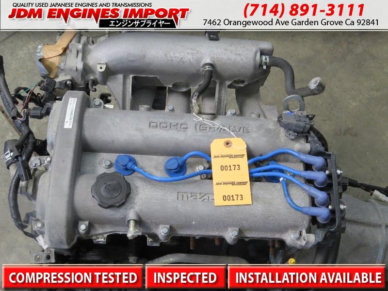1990 1997 jdm mazda miata b6 1 6l dohc engine manual trans b6 miata rh jdmenginesimport com