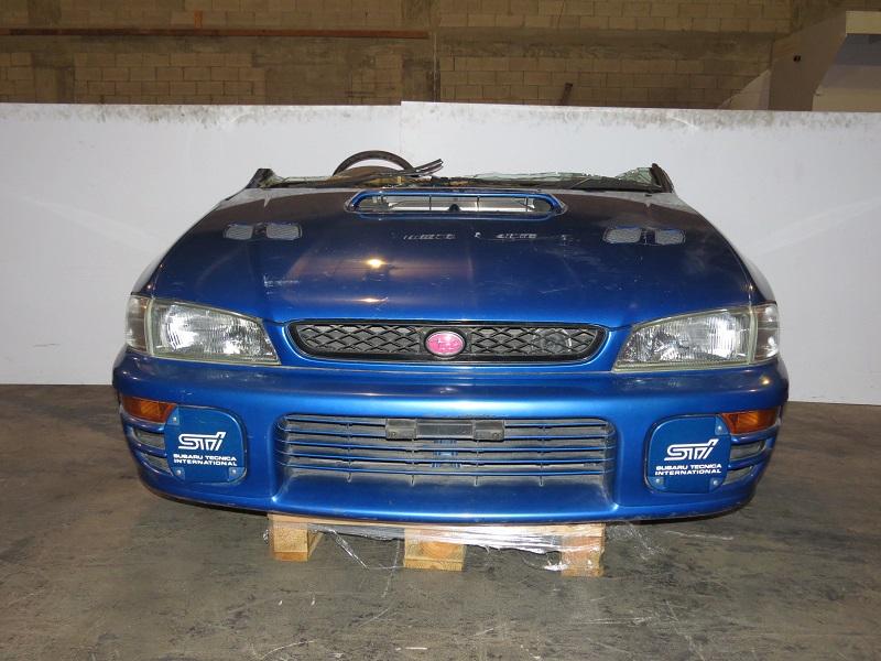 Toyota Wrx >> JDM SUBARU WRX STI GC8 HALF CUT EJ20 TURBO FRONT CLIP VERSION 4