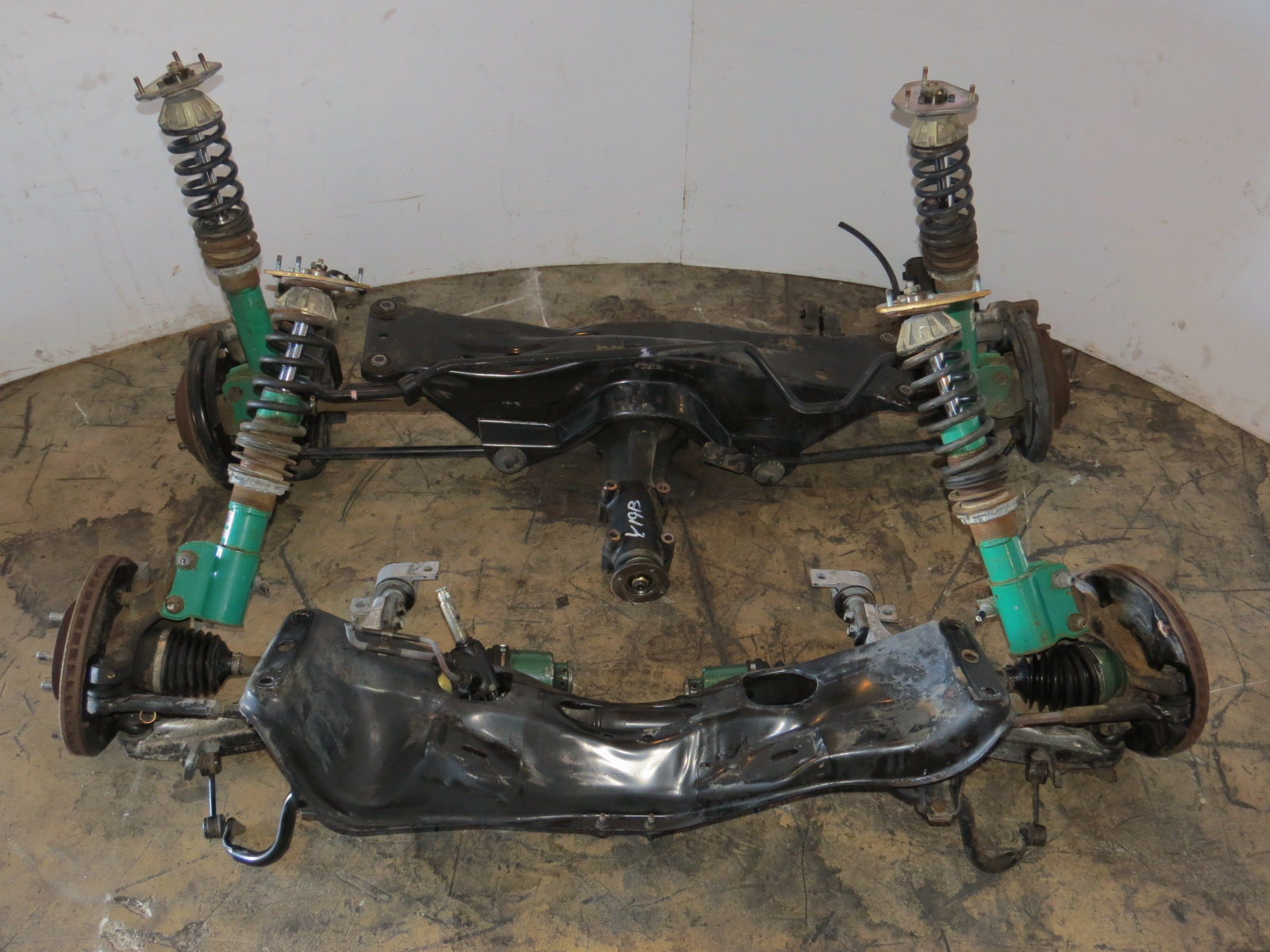 JDM SUBARU WRX FRONT & REAR SUBFRAME ,DIFFERENTIAL,Brake ...