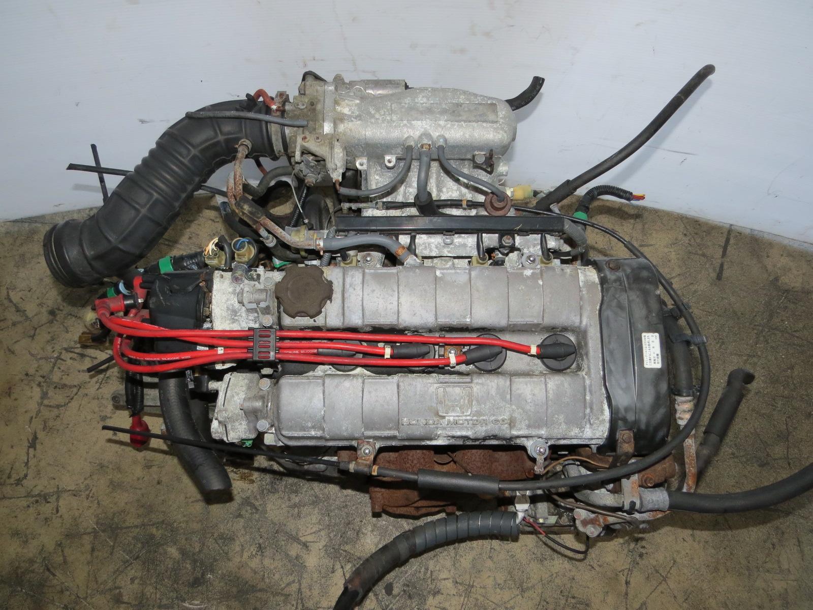 JDM 89-91 HONDA CIVIC ZC DOHC ENGINE & LSD MANUAL TRANSMISSION